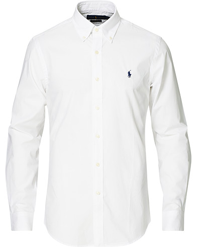Billede af Polo Ralph Lauren Slim Fit Shirt Poplin White