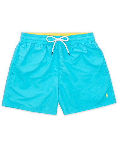 Polo Ralph Lauren Traveler Boxer Swimshorts Liquid Blue i gruppen Tøj / Badebukser hos Care of Carl (15606011r)