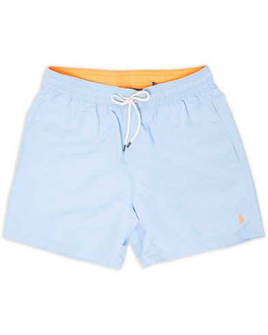 Polo Ralph Lauren Traveler Boxer Swimshorts Baby Blue i gruppen Tøj / Badebukser hos Care of Carl (15606611r)