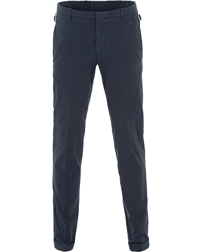 Tiger of Sweden Tretton Adjusters Cotton Trousers Blue i gruppen Tøj / Bukser / Chinos hos Care of Carl (15712311r)
