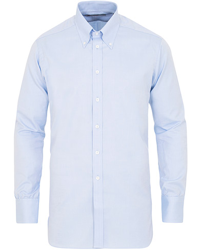 Turnbull & Asser Regular Fit Oxford Button Down Shirt Light Blue