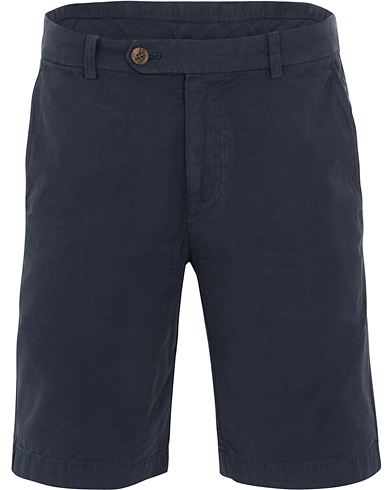 Brooks Brothers Garment Dyed Bermuda Shorts Dark Sapphire i gruppen Tøj / Shorts / Chino shorts hos Care of Carl (15726111r)