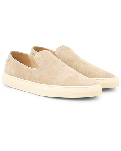 C.QP Jetty Slip On Sneaker Sand Suede