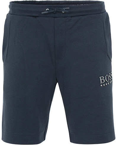 BOSS Athleisure Headlo Shorts Navy i gruppen Tøj / Shorts / Træningsshorts hos Care of Carl (15795511r)