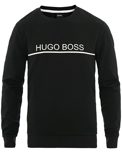BOSS Track Sweatshirt Black i gruppen Tøj / Trøjer / Sweatshirts hos Care of Carl (15798711r)