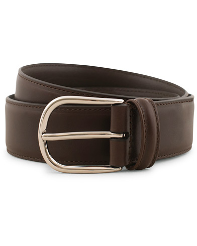 Anderson's Calf Leather 3,5 cm Belt Brown