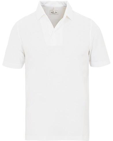 Berg&Berg Claes ll Short Sleeve Cotton Shirt Biancaneve White