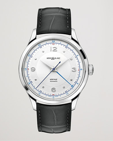 Montblanc Heritage Steel Automatic 40mm Silver Dial men One size