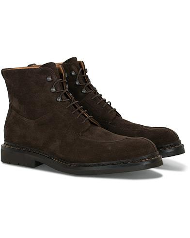 Heschung Ginkgo Boot Dark Brown Suede