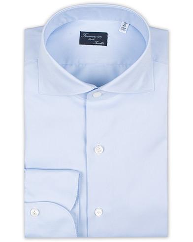 Finamore Napoli Milano Slim Fit Travel Shirt Light Blue