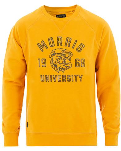 Billede af Morris Carleton Crew Neck Sweatshirt Yellow