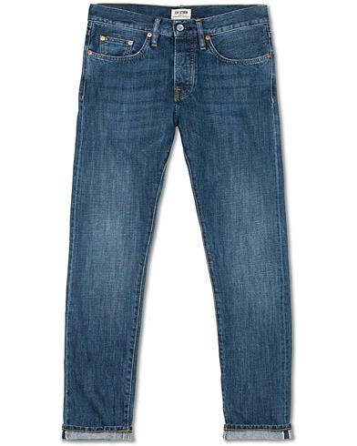 C.O.F. Studio M3 Regular Tapered Fit Selvedge Jeans Classic Worn