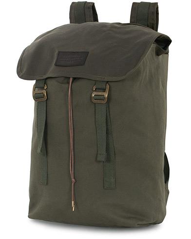 Filson Rugged Twill Ranger Backpack Otter Green Canvas