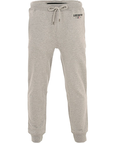 Lexington Ivan Track Pants Grey Melange i gruppen Tøj / Bukser / Sweatpants hos Care of Carl (16356211r)