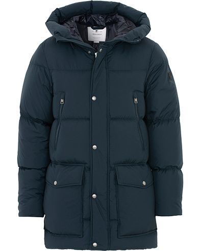 Woolrich Sierra Supreme Down Long Jacket Melton Blue i gruppen Tøj / Jakker / Dunjakker hos Care of Carl (16437811r)