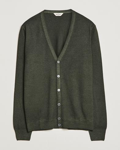 Billede af Gran Sasso Vintage Merino Fashion Fit Cardigan Green