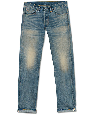 RRL Low Straight Fit Selvedge Jeans Stallings Wash