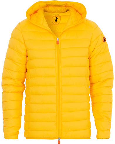 Save The Duck Lightweight Padded Hooded Jacket Chrome Yellow i gruppen Tøj / Jakker / Dunjakker hos Care of Carl (16560611r)