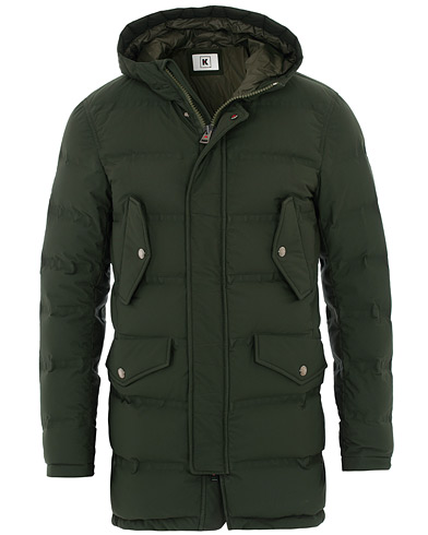 Kired Reuss Down Puffer Jacket Green i gruppen Tøj / Jakker / Dunjakker hos Care of Carl (16562911r)
