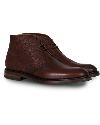 Loake 1880 Legacy Lytham Chukka Boot Oxblood Grain Calf