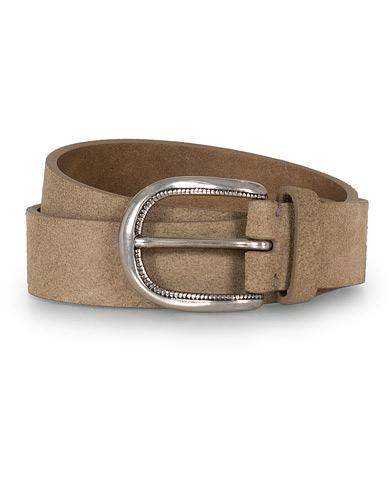 Brunello Cucinelli 3 cm Belt Brown Suede