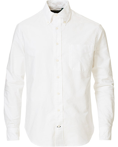 Gitman Vintage Button Down Oxford Shirt White
