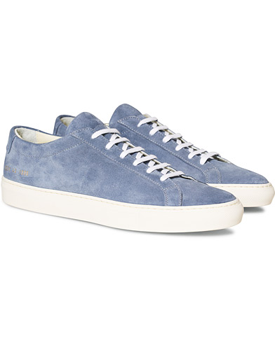 Common Projects Original Achilles Sneakers Blue Suede
