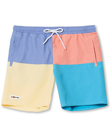 Lacoste Block Bathingtrunks Clusi/Elfe/Cicer