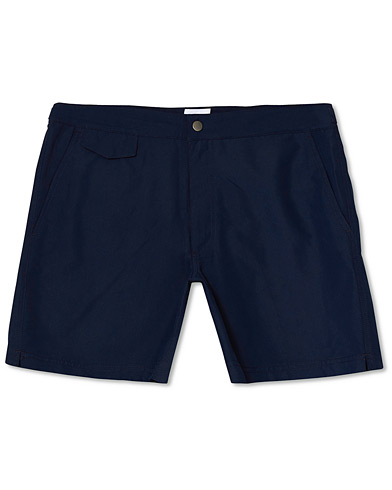 Sunspel Recycled Seaqual Swim Shorts Navy