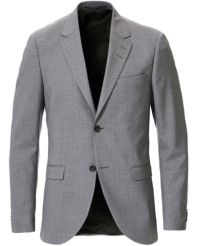Tiger of Sweden Jamonte Wool Suit Blazer Grey i gruppen Tøj / Blazere & jakker / Habitjakker hos Care of Carl (19278511r)