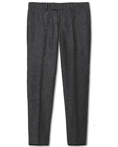Tiger of Sweden Tordon Flannel Trousers Grey Melange i gruppen Tøj / Bukser / Flannelsbukser hos Care of Carl (19287711r)