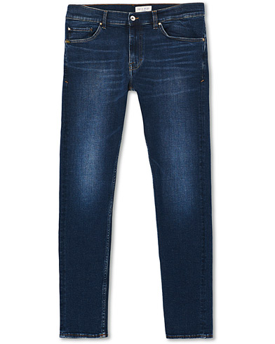 Tiger of Sweden Jeans Evolve Charm Superstretch Jeans Dark Blue i gruppen Tøj / Jeans hos Care of Carl (19290211r)