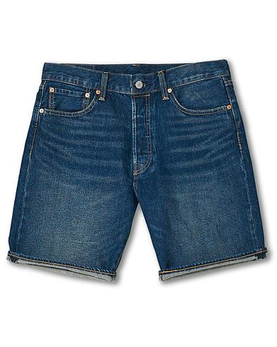 Levi's 501 Denim Stretch Shorts Fire Goin
