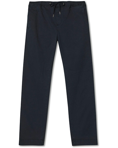 Morris Winward Poplin Drawstring Pants Blue