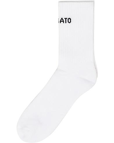 Axel Arigato Logo Tube Socks White