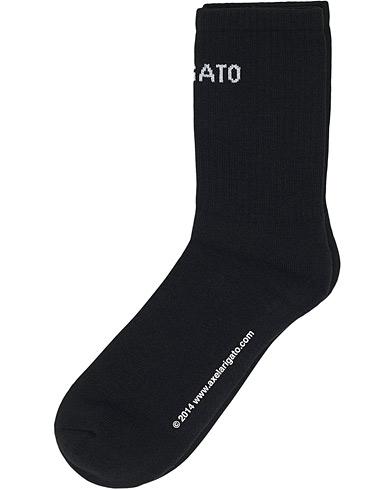 Axel Arigato Logo Tube Socks Black
