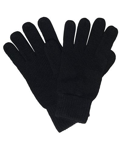 Barbour International Sensor Knitted Gloves Black
