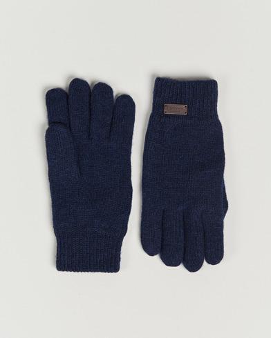 Barbour Lifestyle Carlton Wool Gloves Navy