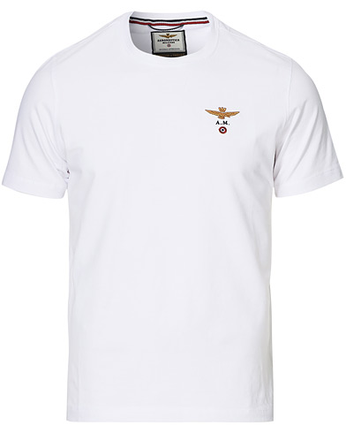 Aeronautica Short Sleeve Tee Off White