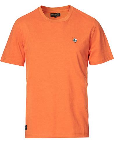 Morris Darell Embroidery Logo Tee Orange
