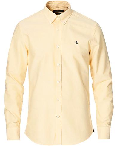 Morris Oxford Solid Shirt Yellow