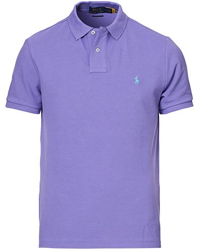 Polo Ralph Lauren Custom Slim Fit Polo Hampton Purple