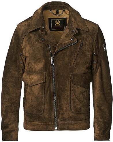 Belstaff Charlie Suede Jacket Windsor Moss