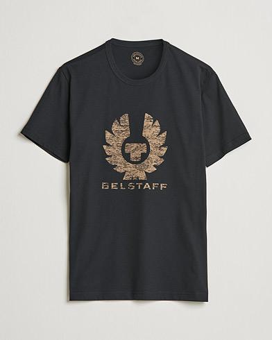 Belstaff Coteland Logo Crew Neck Tee Black