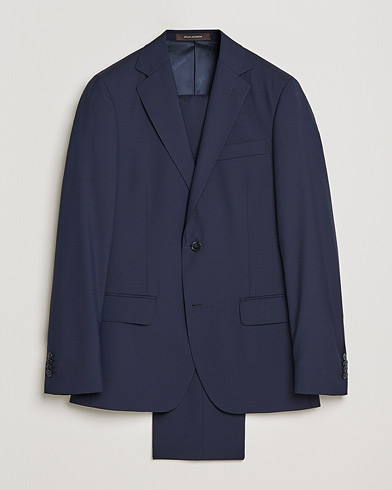 Edmund Suit Super 120's Wool Navy i gruppen Tøj / Jakkesæt hos Care of Carl (SA000053)