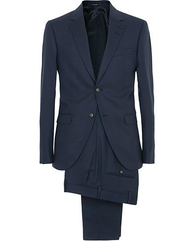 Lamonte 3 Wool Suit Blue