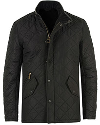 Barbour Lifestyle Powell Quilted Jacket Black