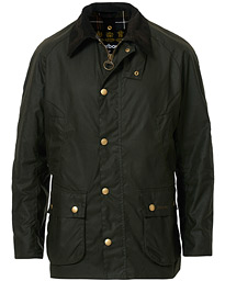 Barbour Lifestyle Ashby Wax Jacket Olive