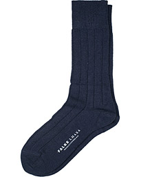 Lhasa Cashmere Socks Dark Navy