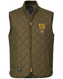Trenton Quilted Vest Olive